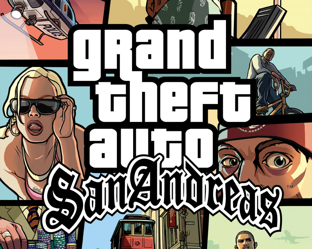GTA San Andreas Game Setup Free Download